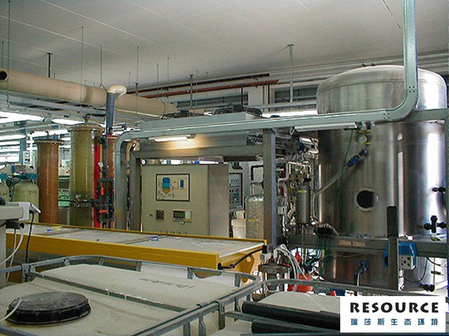 電鍍廠電鍍廢水用低溫蒸發器處理案例