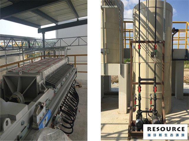 金屬表面行業廢水處理